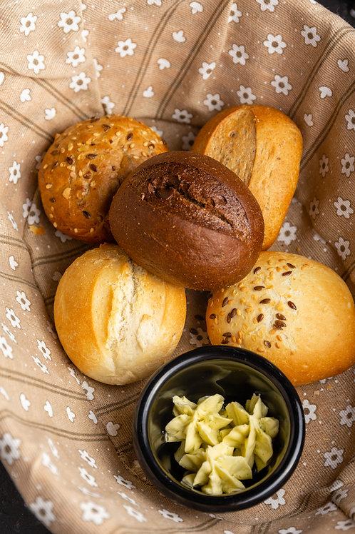 Хлебная корзина 5 булочек