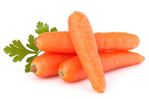 Морковь мытая 100 гр