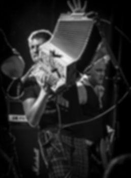 Rémi Geffroy en concert avec les Booze Brothers