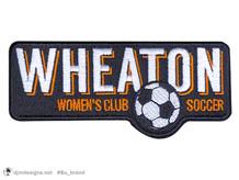 Wheaton College Club Soccer Patch