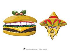 Monster Burger & Nacho