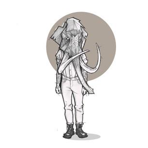 Mammoth Illustration