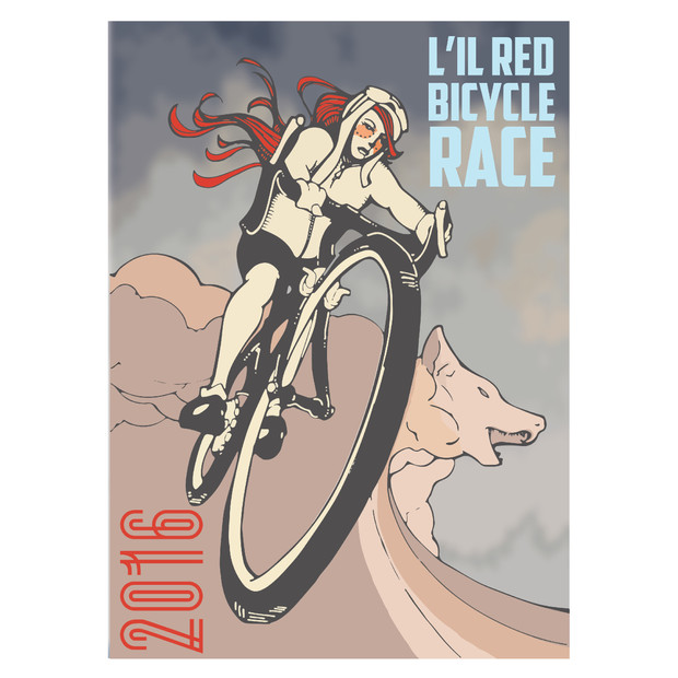 L'il Red Bicycle Race Poster