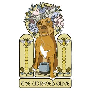 The Untamed Olive Illustration Logo