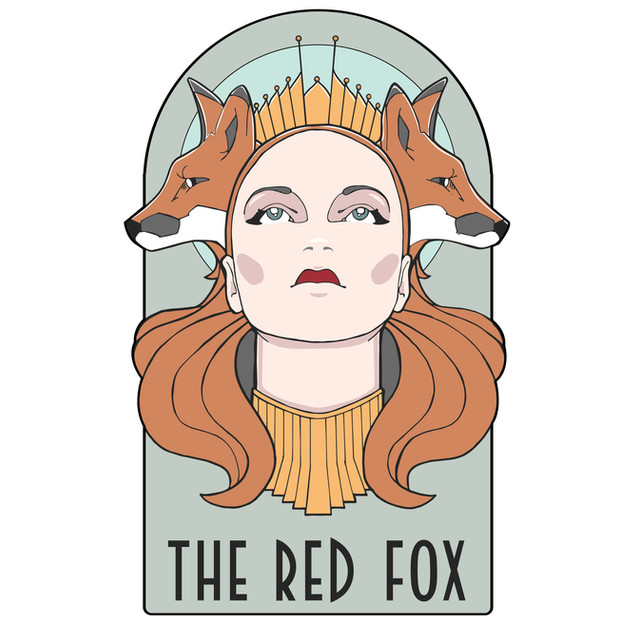 The Red Fox Illustration
