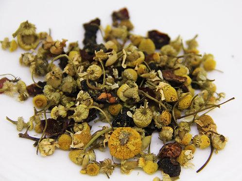Té herbal manzanilla primavera