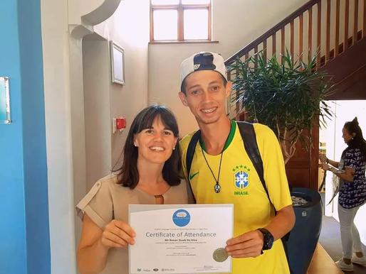 'Aprendi que o mundo tem muito a ensinar pra gente!', diz Renan após experiência na África do Sul