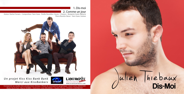 """CD Julien Thiebaux """"Dis Moi"""" 2004"""