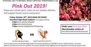 Pink Out 2019- Stamford High School - Oct 18th