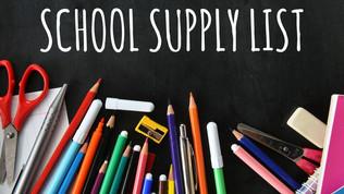 Pre-Order Next Year's School Supplies By Jun 18th