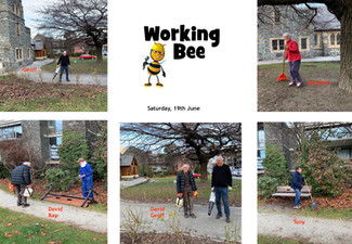 Working Bee at St Peter's
