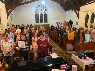 Christmas Eve 2020 : Night time Carols at St Peter's