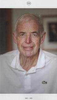 Sir Eion Sinclair Edgar (1945 - 2021)
