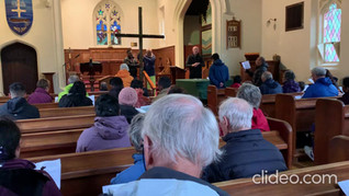The Walk of The Cross 2021 : a short video of the final hymn.