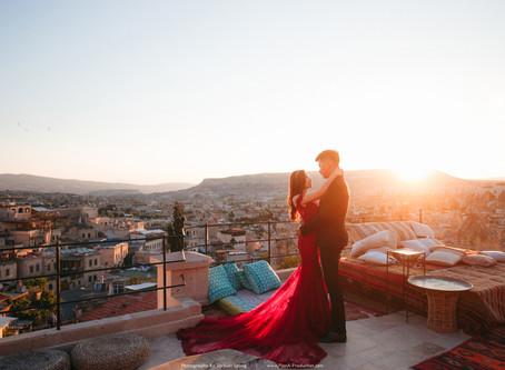 Yii Zhan & Xin Ling. Cappadocia + Santorini