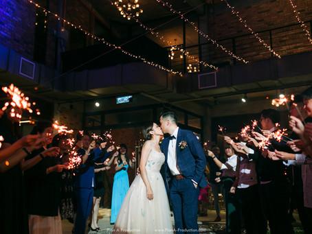 Teng Fong + Eelaine . Chinese Wedding // Seputeh Glasshouse