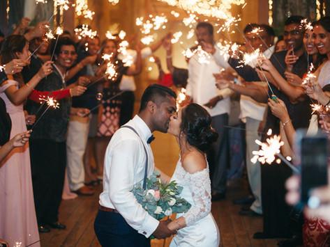 Michael + Kristin. Garden Wedding at Tanarimba / Janda Baik