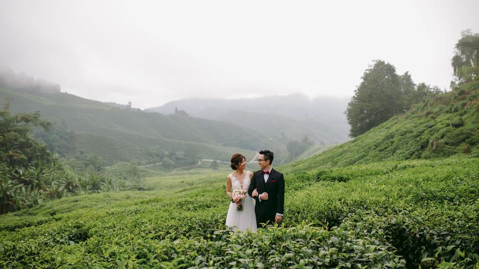 Jeat & Cindy. Cameron Pre Wedding