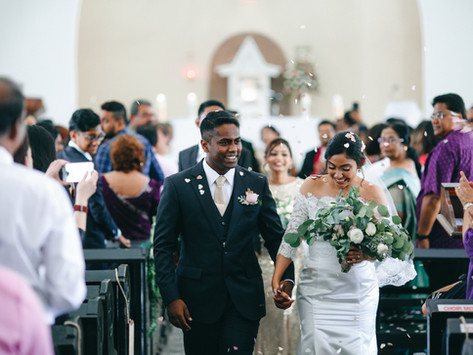 Michael + Kristin . Church Wedding