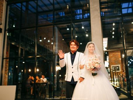 Zia Hau + Elecher. Glasshouse Wedding at Collective Subang