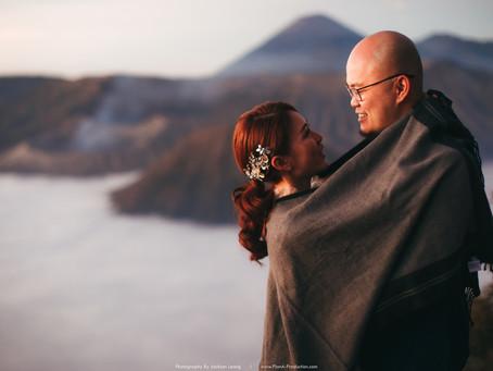 Alex & Agnes. Mount Bromo