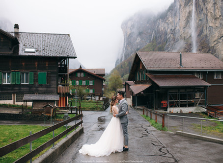Andrew + Michelle. Switzerland