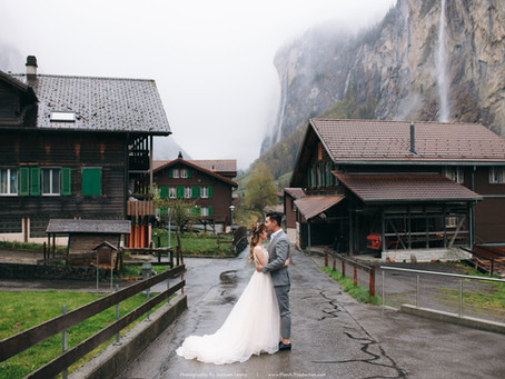 Andrew + Michelle. Switzerland