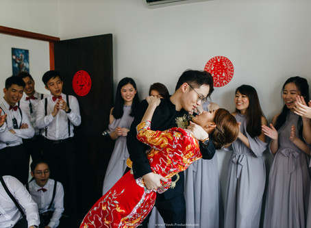 Dao Xiang & Tze Lui . Chinese Wedding // Hilton Hotel PJ