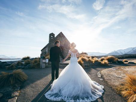 Kent & Debbie. New Zealand Pre Wedding