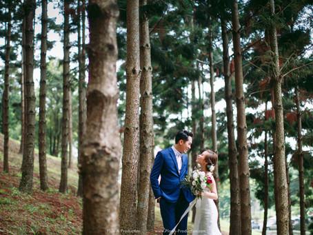 Dennis + Vanessa. Natural & Rustic Pre Wedding