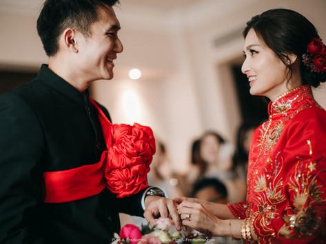 Alvin + Esther. Chinese Wedding // Grand Wedding at Marriot Putrajaya