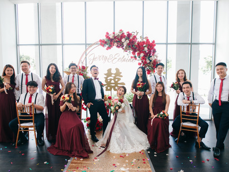 Jerry + Eelaine . Glasshouse Wedding // Renaissance Hotel JB