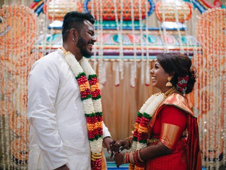 Sanjeev & Darshini . Hindu Ceremony & Glasshouse wedding