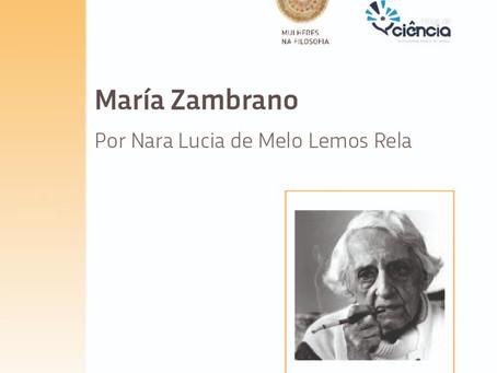 Verbete: María Zambrano