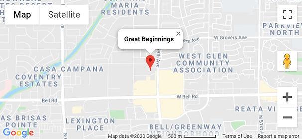 Great Beginnings Preschool in Glendale Arizona