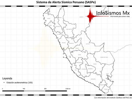 Perú crea el SASPe a raíz de los sismos de 2017, mientras que México no invierte en el SASMEX