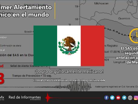A 25 años del Primer Alertamiento Sísmico en el mundo orgullosamente mexicano
