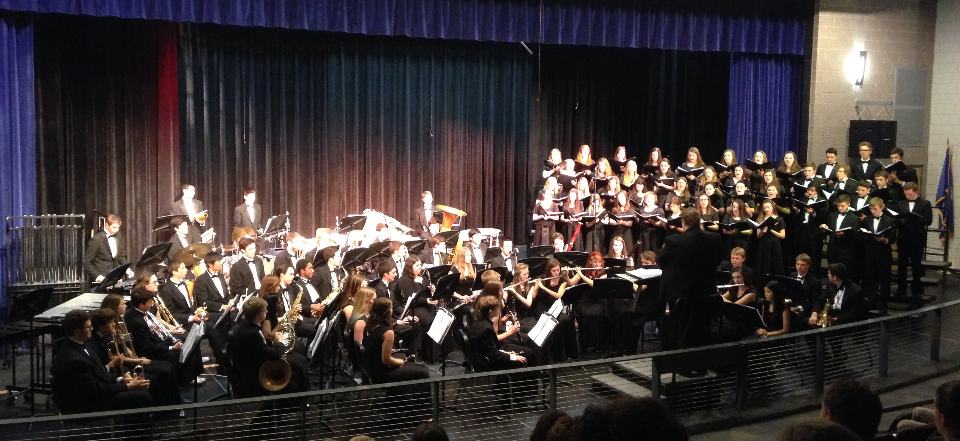 Combined Band Chorus