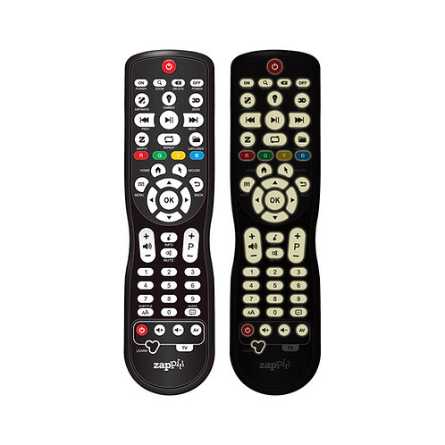 Regular backlit IR Remote