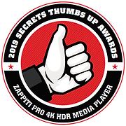 zappiti-pro-4k-hdr-award-thumb-up-secret