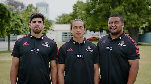Plate Up for a Purpose is bringing CEOs across Canterbury to go head-to-headf to raise funds for the City Mission's Back to School programme. CEOs Pete Whalan, Colin Mansbridge and Matthew Mark explains how this all works, with some help from our Crusaders friends.