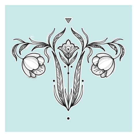 Diseño Mujer Kmín Tattoo