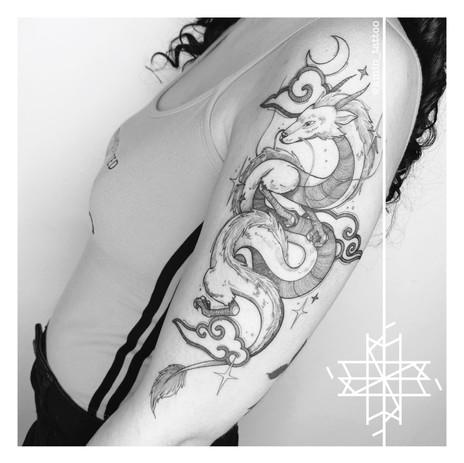 Haku Kmín Tattoo