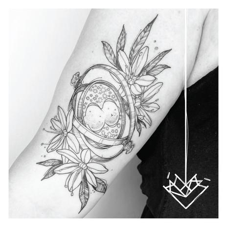 Giratiempo Kmín Tattoo