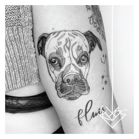 Perro Kmín Tattoo