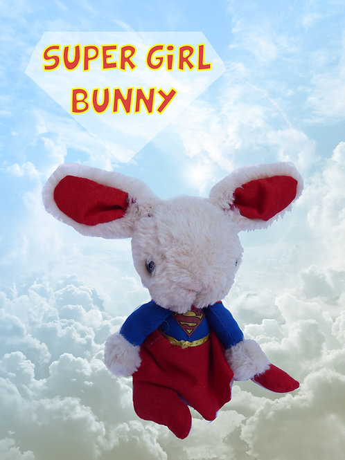 Mini Super Girl bunny