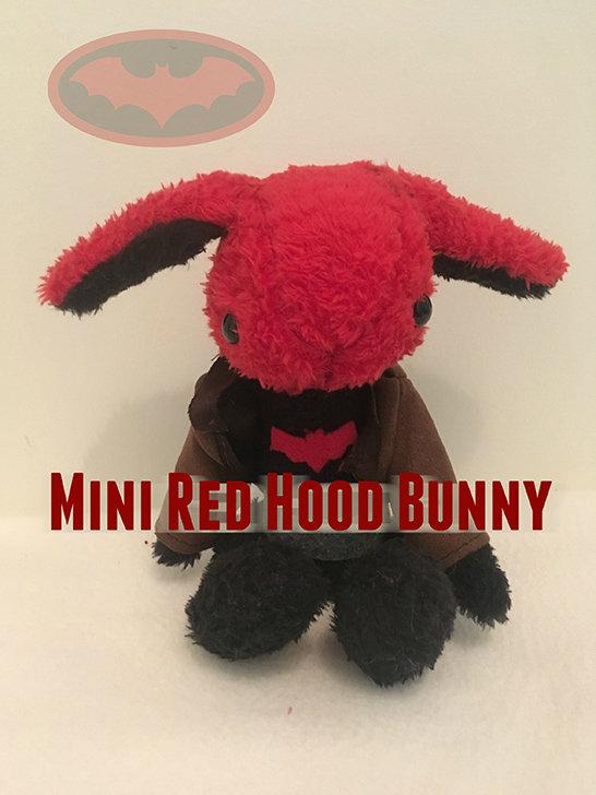 Mini Red Hood Bunny