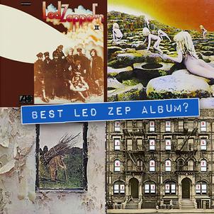 Best Led Zeppelin Album? The Ultimate Album Match Up