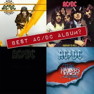 Best AC/DC Album? The Ultimate Album Match Up!