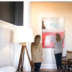 3 WAYS TO USE ART TO REFRESH YOUR SPACE.